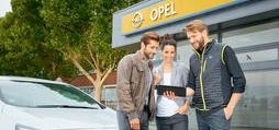 Opel Service buchen